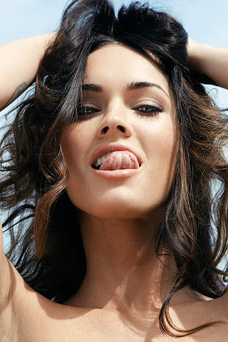 wallpapers megan fox. Megan Fox iPhone Wallpaper