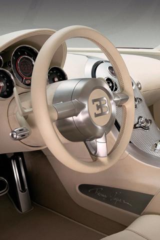 Bugatti Veyron Interior iPhone Wallpaper   iDesign iPhone