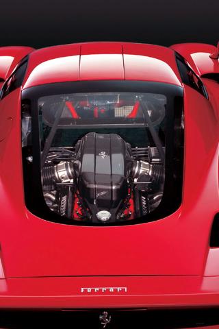 Ferrari Enzo Rear Iphone Wallpaper Idesign Iphone