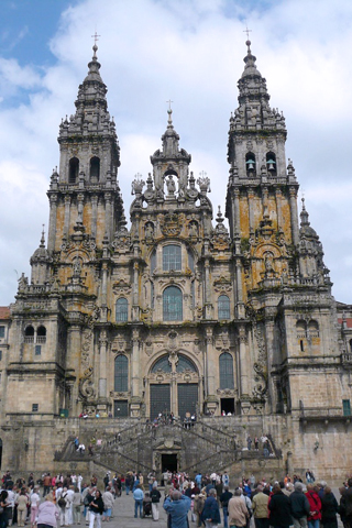 Cathedral of Santiago Compostela iPhone Wallpaper