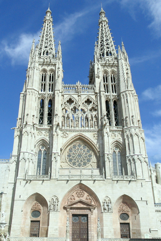 The Burgos Cathedral iPhone Wallpaper