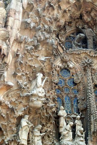 Sagrada Familia close up iPhone Wallpaper