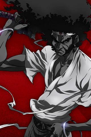 Afro Samurai iPhone Wallpaper