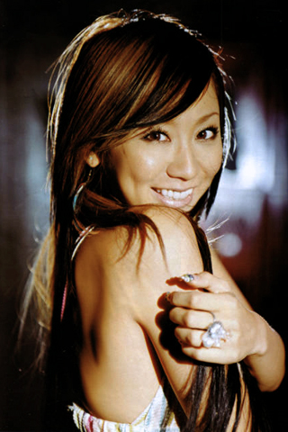 Koda Kumi iPhone Wallpaper