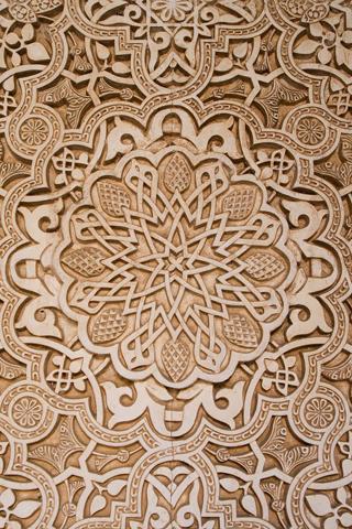 Wooden Pattern iPhone Wallpaper