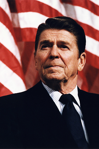Reagan at Durenberger iPhone Wallpaper