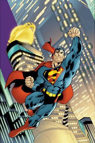 Superman Comic IPhone Wallpaper