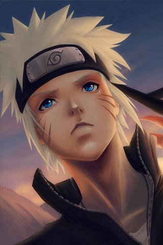 Naruto Painting iPhone Wallpaper