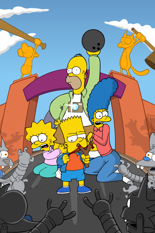 The Simpsons iPhone Wallpaper