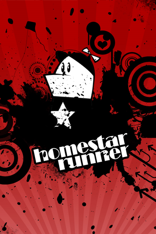 Homestar Runner iPhone Wallpaper