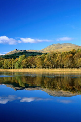 Lake Reflection iPhone Wallpaper