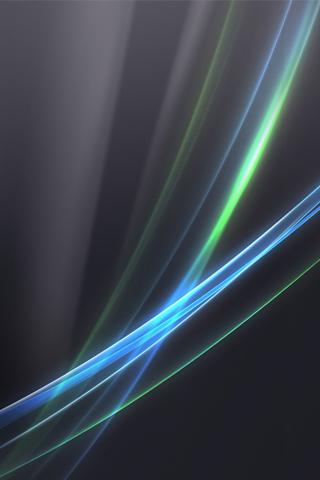 Light Swirls iPhone Wallpaper