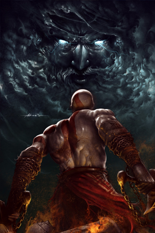 God Of War IPhone Wallpaper