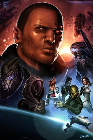 Mass Effect iPhone Wallpaper